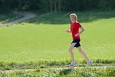 Lotta running in Hagadalen