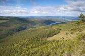 View from Hykjeberget, Dalarna