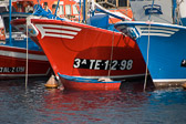 Boats in Los Cristianos harbour, Tenerife